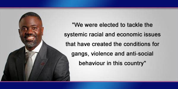 Minister Wayne Caines Bermuda Oct 6 2017 TC