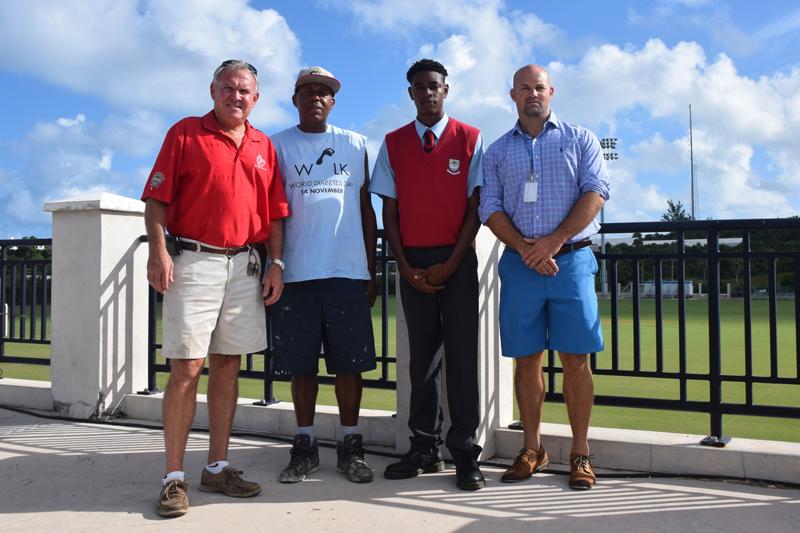 NSC helps out CedarBridge student Bermuda Oct 2017
