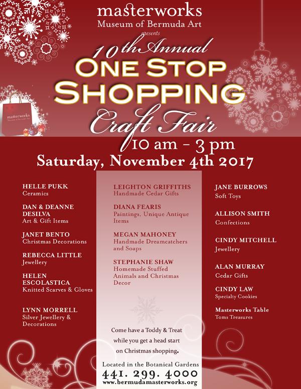 One Stop Shopping Bermuda Oct 2017