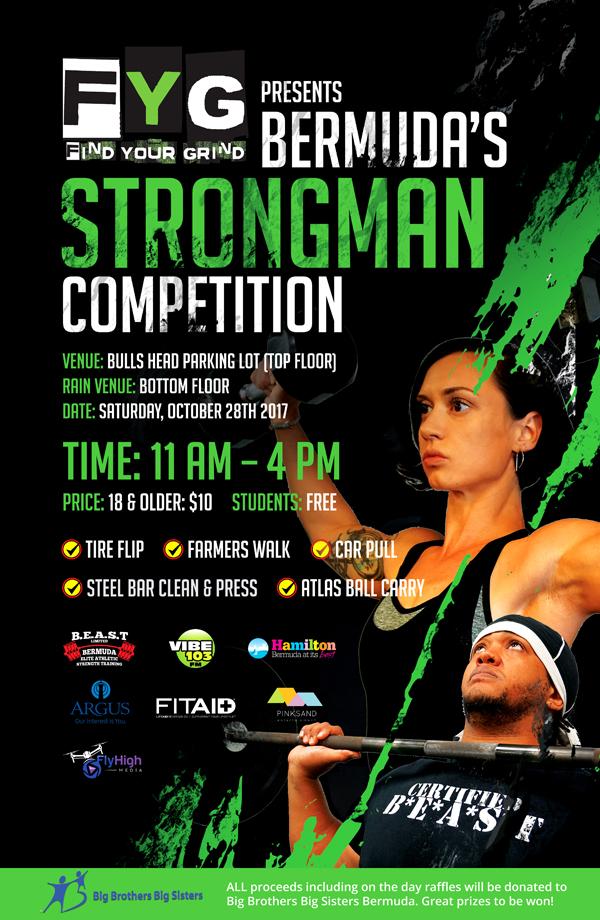 Strongman Competition Bermuda Oct 2017