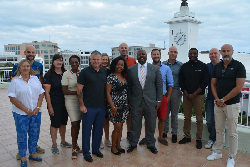 Tiathlon Meeting with Ministers Bermuda Oct 2017