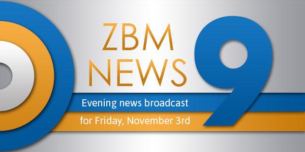 zbm 9 news Bermuda November 3 2017