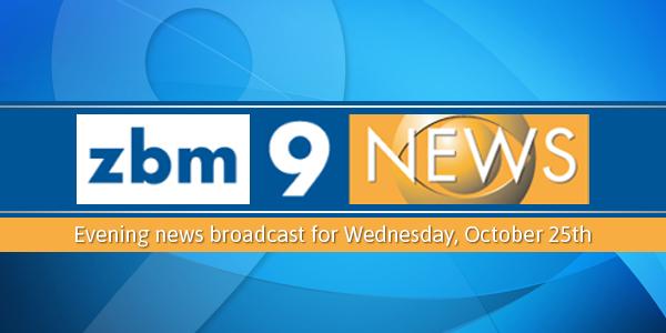 zbm 9 news Bermuda October 25 2017