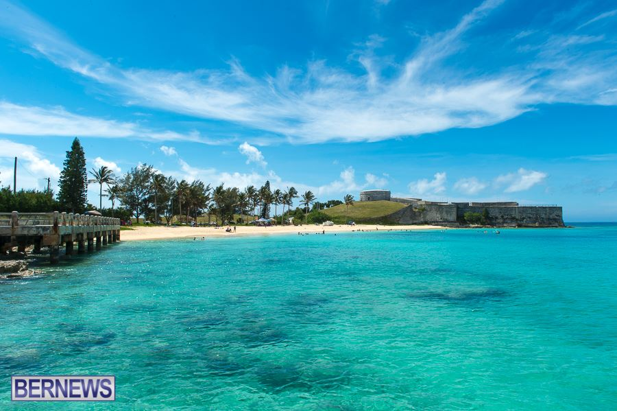 223 Beautiful Bermuda blues at St Catherine's beach