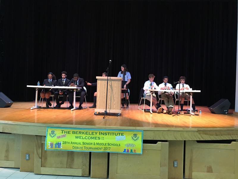 Berkeley Institute's Debate Bermuda Nov 2017 (3)