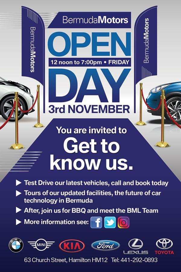 Bermuda Motors Open Day Nov 2017
