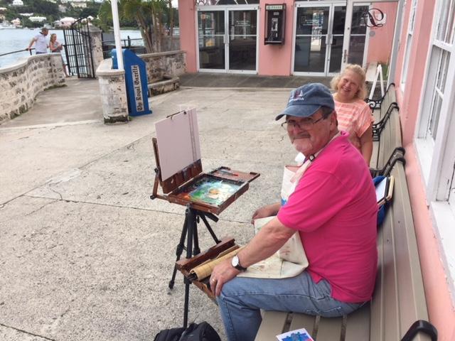 Bermuda Plein Air Festival Nov 2017 (2)