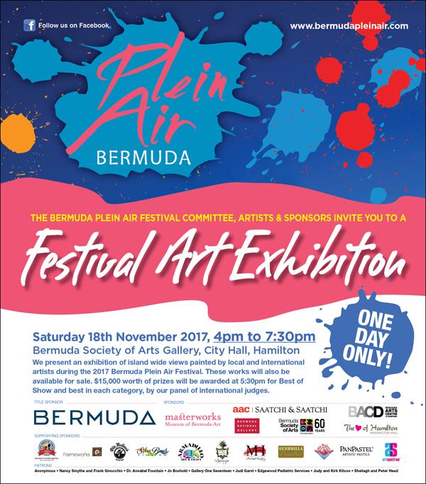 Bermuda Plein Air Festival Nov 2017