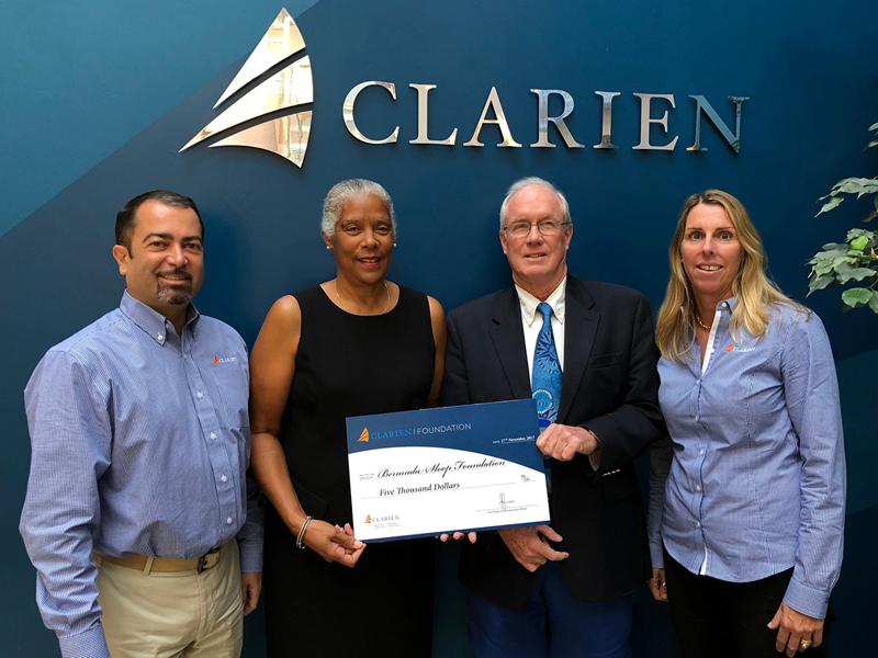 Clarien Bank & Bermuda Sloop Foundation Nov 2017