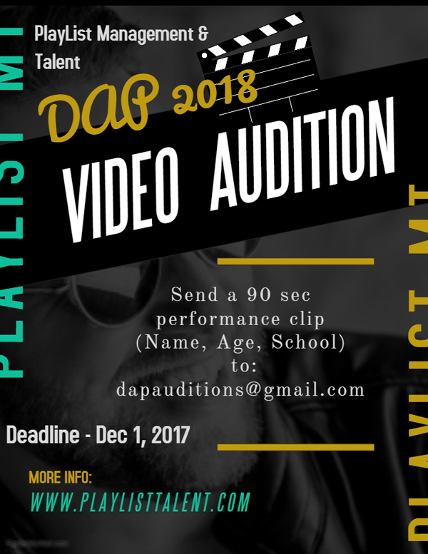 DAP Audition Bermuda Nov 2017