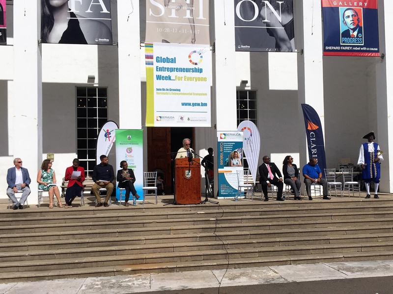 Global Entrepreneurship Week Launching Bermuda Nov 2017 (2)