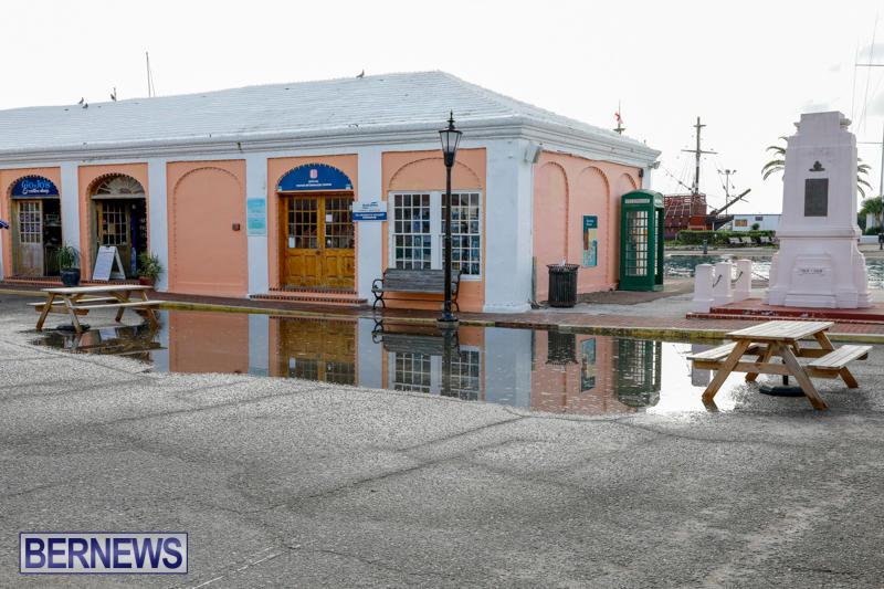 High Tide Flooding Bermuda, November 4 2017_2549