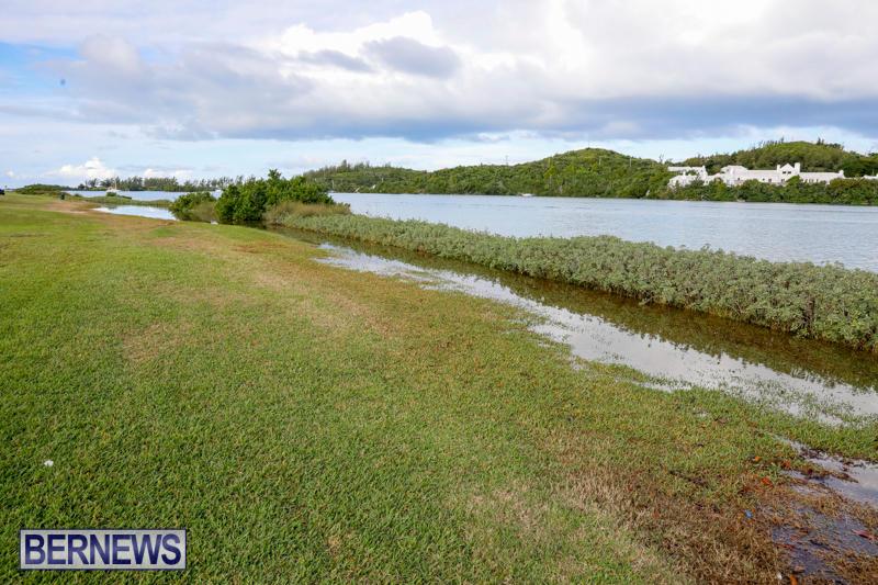 High Tide Flooding Bermuda, November 4 2017_2552