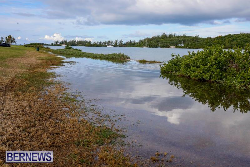 High Tide Flooding Bermuda, November 4 2017_2554