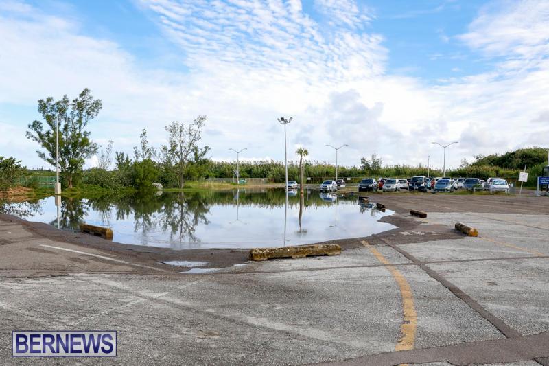 High Tide Flooding Bermuda, November 4 2017_2562