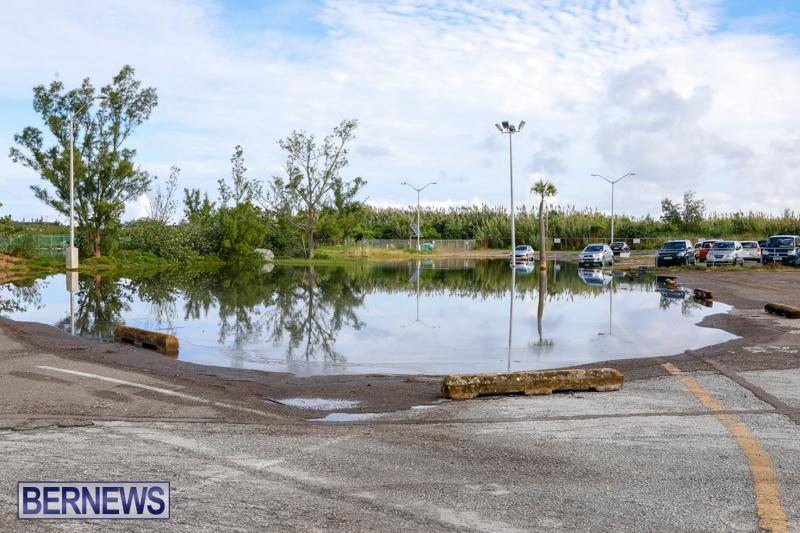 High Tide Flooding Bermuda, November 4 2017_2564