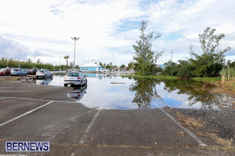High Tide Flooding Bermuda, November 4 2017_2570
