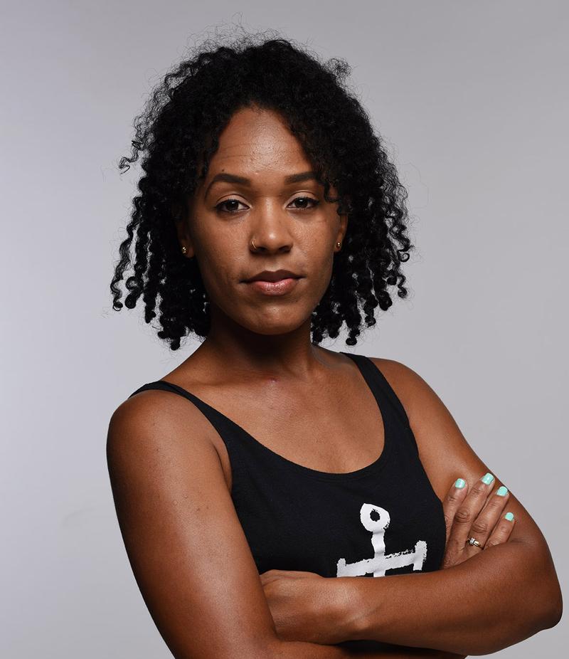 Local Fashion Designers Bermuda Nov 3 2017 Monique Head shot