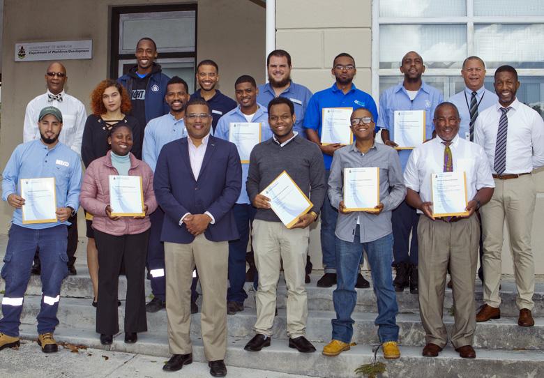 Minister Certificates Presentation Bermuda Nov 2017 (1)