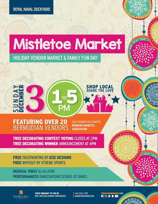 Mistletoe Market Bermuda Nov 2017