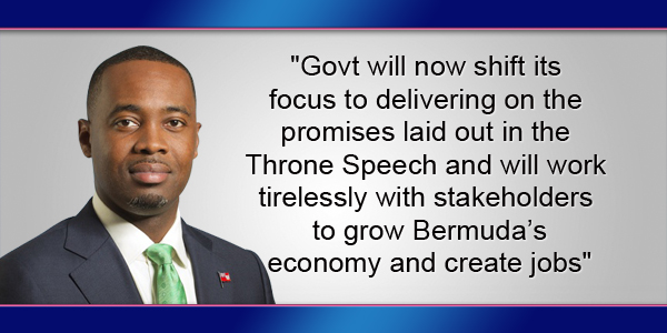 Premier David Burt Bermuda Nove 3 2017