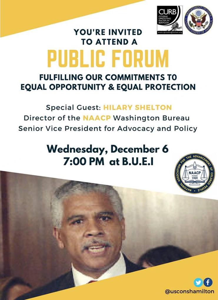 Public Forum Bermuda Nov 30 2017