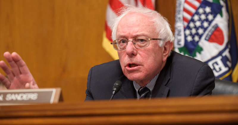 Sen Bernie Sanders Nov 8 2017