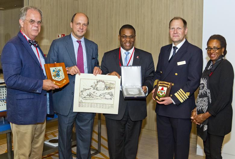 Viking Sun Inaugural Visit Bermuda Nov 14 2017