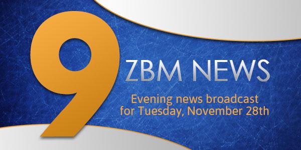 zbm 9 news Bermuda November 28 2017 TC