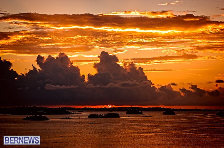 258 This week has seen some amazing sunsets in Bermuda