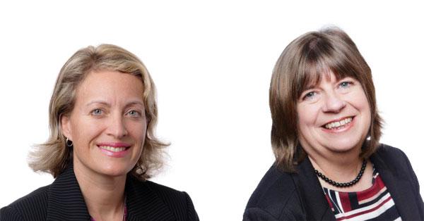 Alison MacKrill and Vanessa Schrum Bermuda Dec 2017