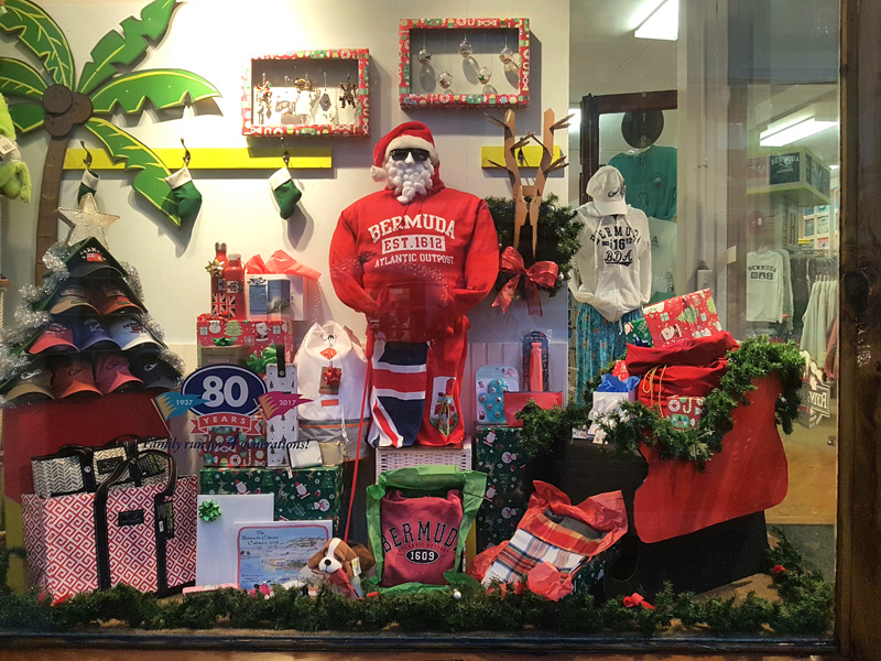 Christmas Window Competition Bermuda Dec 2017