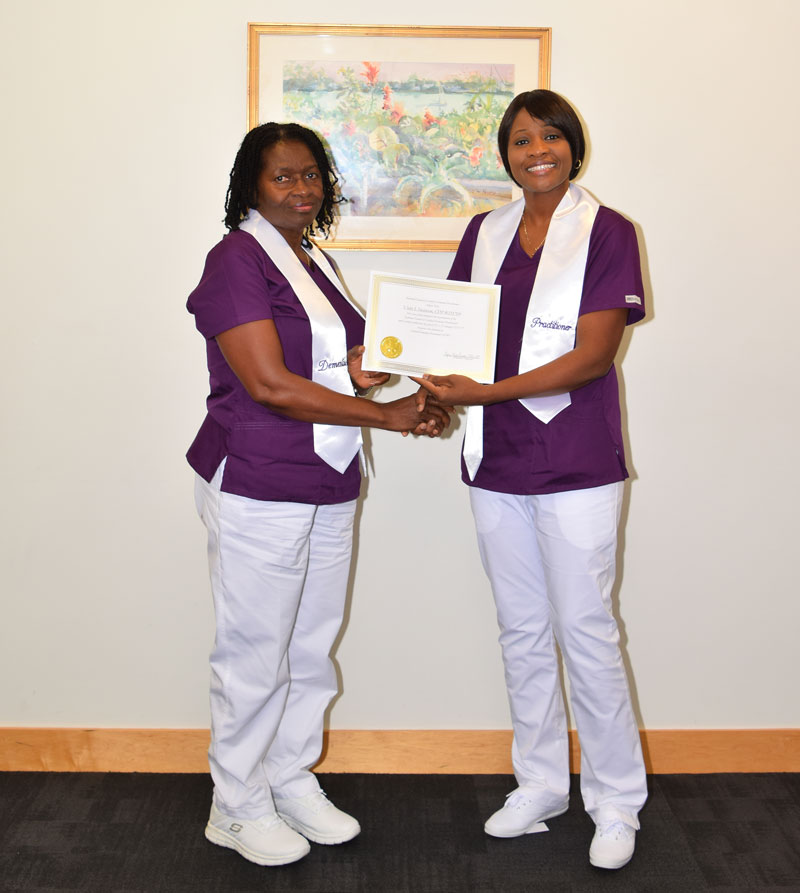 Dementia Care Practitioner-Violet and Yana
