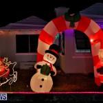 Flatts North Shore Road Christmas Decorations Lights Bermuda, December 20 2017-6820