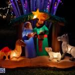 Flatts North Shore Road Christmas Decorations Lights Bermuda, December 20 2017-6824