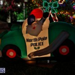 Flatts North Shore Road Christmas Decorations Lights Bermuda, December 20 2017-6840