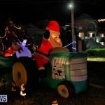 Flatts North Shore Road Christmas Decorations Lights Bermuda, December 20 2017-6852