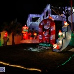 Flatts North Shore Road Christmas Decorations Lights Bermuda, December 20 2017-6976