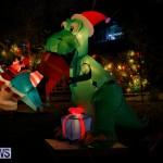 Flatts North Shore Road Christmas Decorations Lights Bermuda, December 20 2017-6988