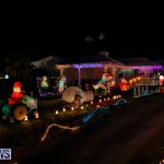 Flatts North Shore Road Christmas Decorations Lights Bermuda, December 20 2017-7012