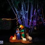 Flatts North Shore Road Christmas Decorations Lights Bermuda, December 20 2017-7020