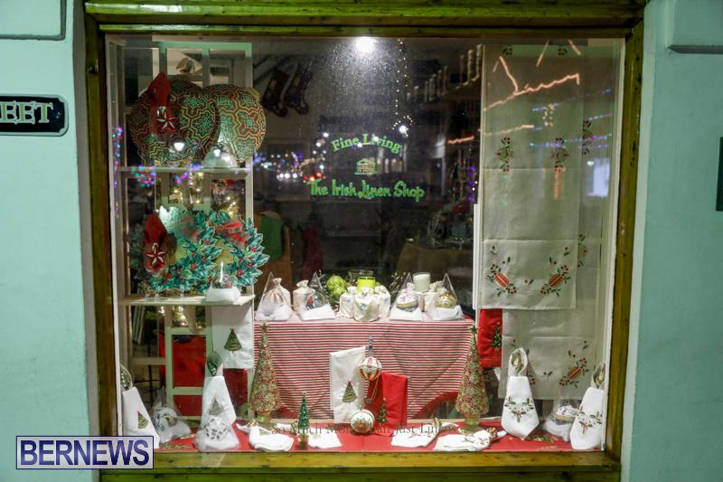 Hamilton-Storefronts-Christmas-Decorations-Lights-Bermuda-December-22-2017-7616