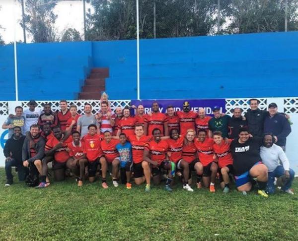 Holiday Hampers Teachers Rugby Football Club Bermuda Dec 14 2017 (2)
