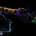 Jennings Road Christmas Decorations Lights Bermuda, December 20 2017-6785