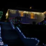 Jennings Road Christmas Decorations Lights Bermuda, December 20 2017-6793