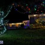 Jennings Road Christmas Decorations Lights Bermuda, December 20 2017-6805