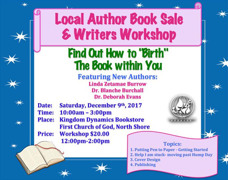 Local Author Booksale Bermuda Dec 2017