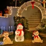 North Cote Close Christmas Decorations Lights Bermuda, December 20 2017-7044