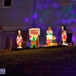 Sayle Road Christmas Decorations Lights Bermuda, December 22 2017-7369