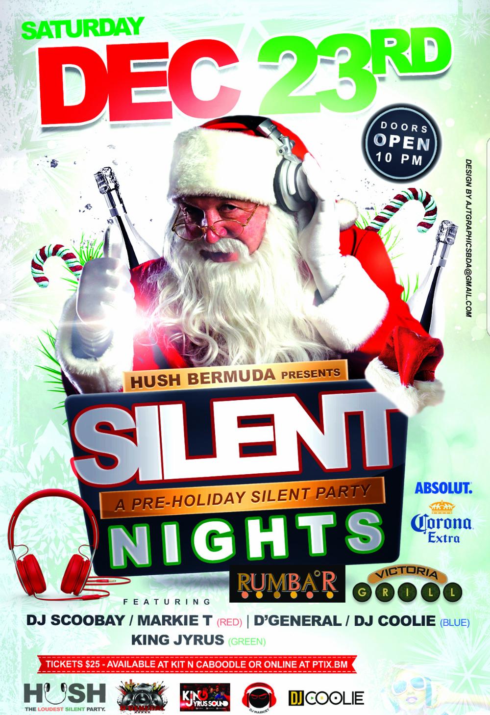 Silent Night Bermuda Dec 18 2017